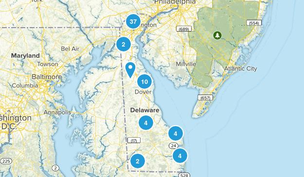 Delaware Parks Map