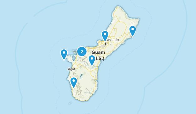 Guam Views Map
