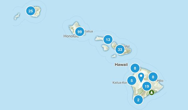 Hawaii Birding Map