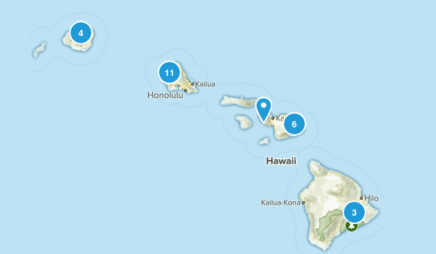 Hawaii Cave Map