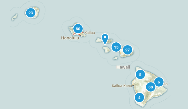 Hawaii No Dogs Map
