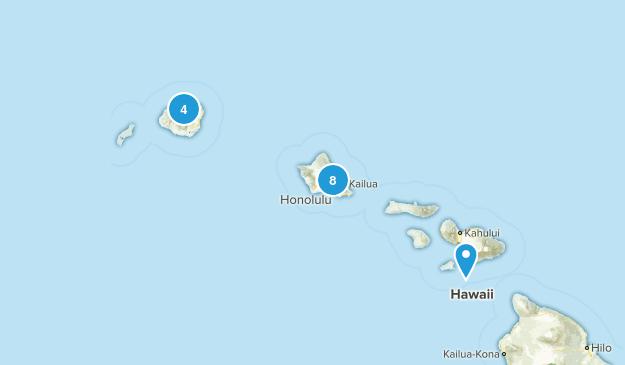 Hawaii Fishing Map