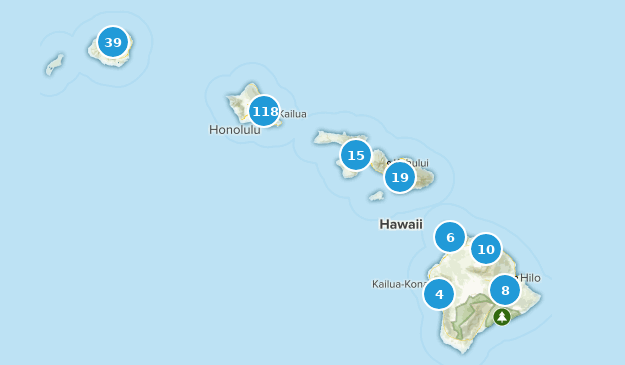 Hawaii Forest Map