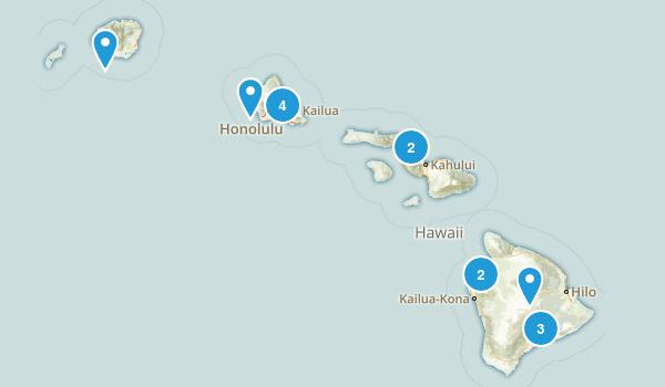 Hawaii Historic Site Map