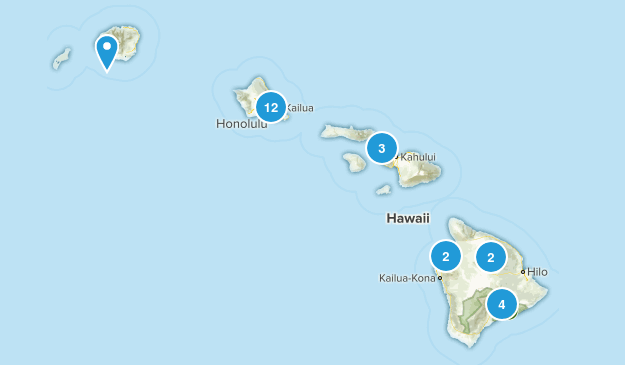 Hawaii Historic Site Map