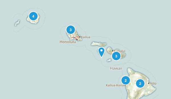 Hawaii Horseback Riding Map