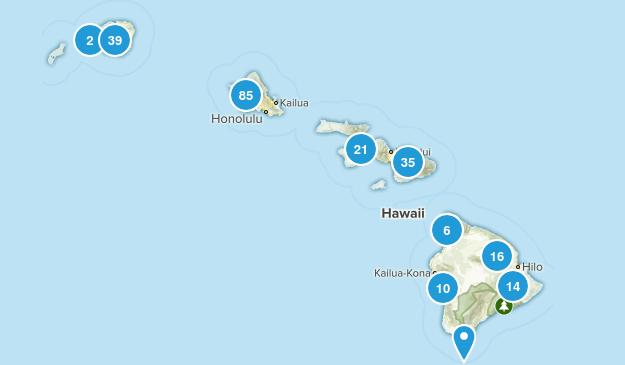 Hawaii Kid Friendly Map
