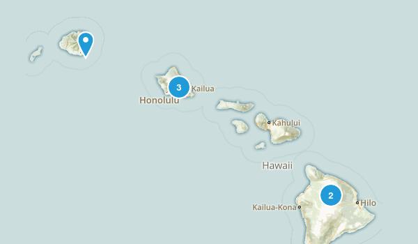 Hawaii Lake Map