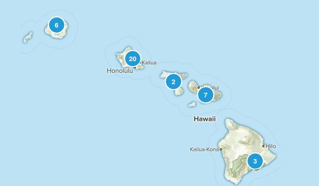 Hawaii Mountain Biking Map