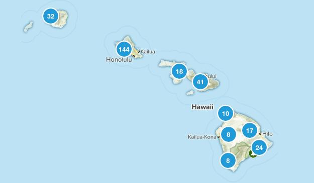 Hawaii Nature Trips Map
