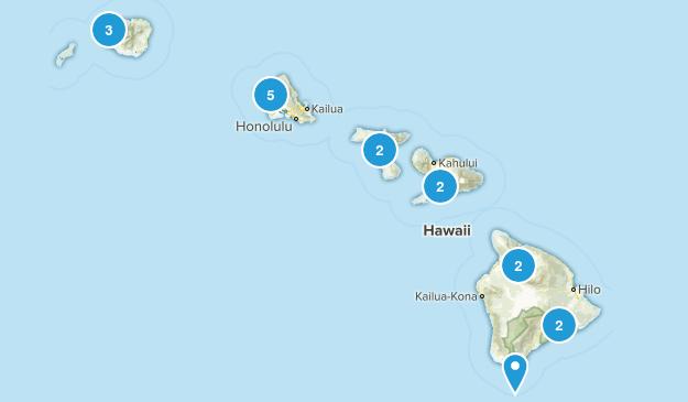 Hawaii Off Road Driving Map