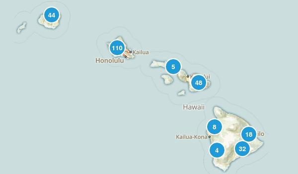 Hawaii Parks Map