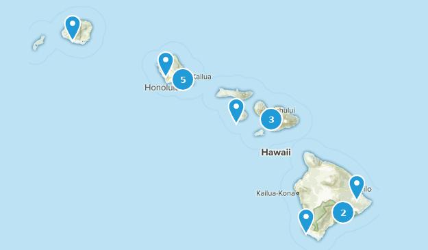 Hawaii Scenic Driving Map
