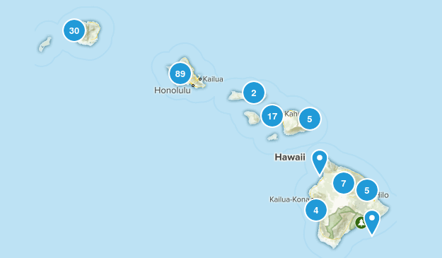 Hawaii State Parks Map