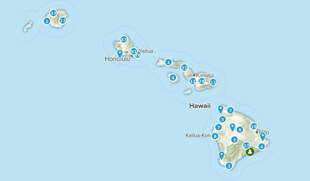 Hawaii Views Map