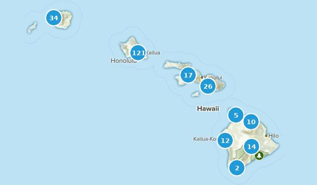 Hawaii Wildlife Map