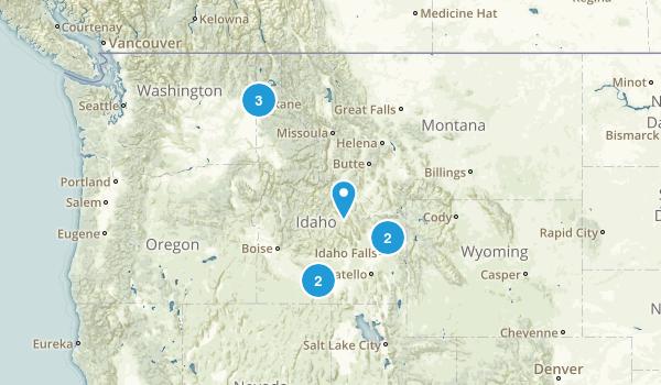 Idaho Wheelchair Friendly Map