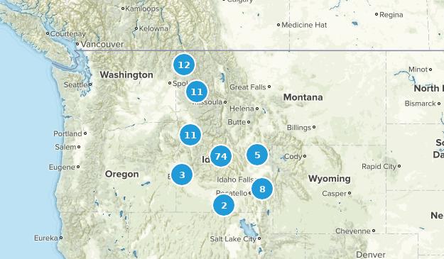 Idaho Backpacking Map