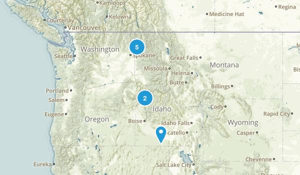 Idaho Beach Map