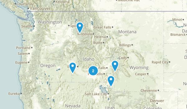 Idaho Cave Map
