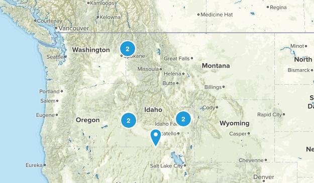 Idaho City Walk Map