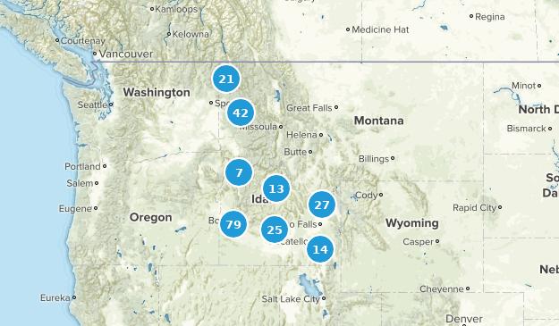 Idaho Kid Friendly Map