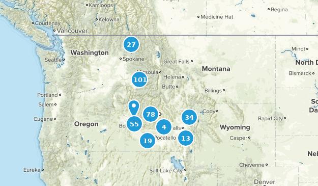 Idaho Wildlife Map