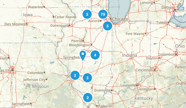 Illinois Local Parks Map