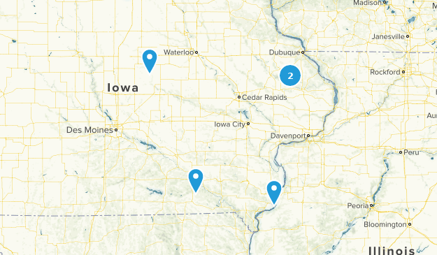 Best Cave Trails in Iowa | AllTrails Map Of Illinois And Iowa on