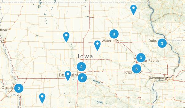 Iowa On Us Map Images Iowa Road Map Iowa State Of Us Map - Iowa map us