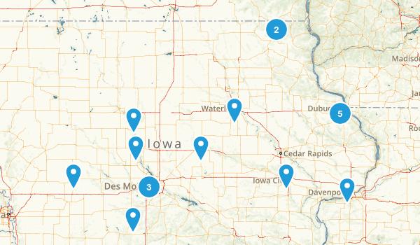 Iowa Dog Friendly Map