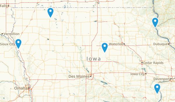 Iowa No Dogs Map
