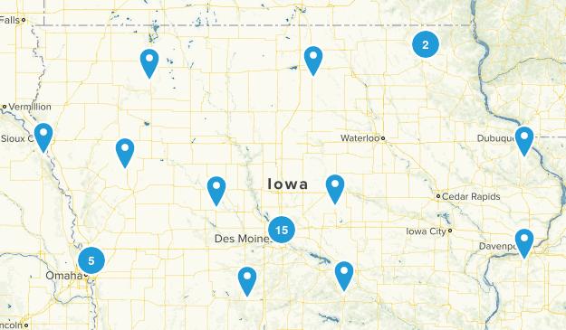 Iowa Local Parks Map