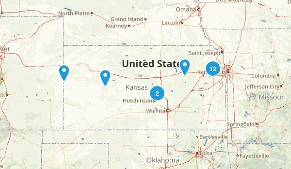 Kansas Dog Friendly Map