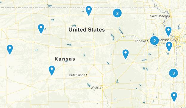Kansas Historic Site Map