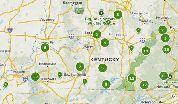map of kentucky state parks Best State Parks In Kentucky Alltrails map of kentucky state parks