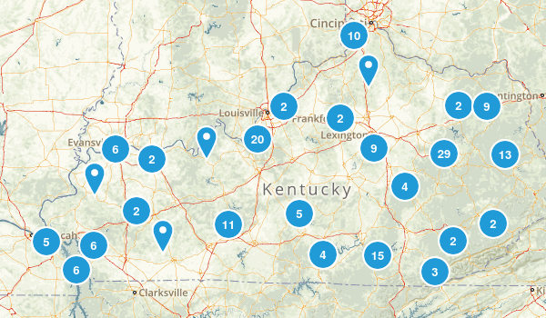 Kentucky Wildlife Map
