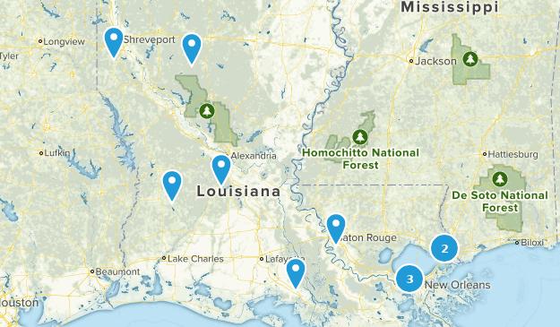 Louisiana Dog Friendly Map