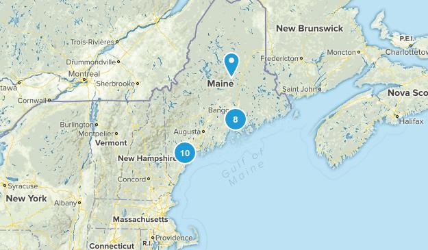 Maine Wheelchair Friendly Map