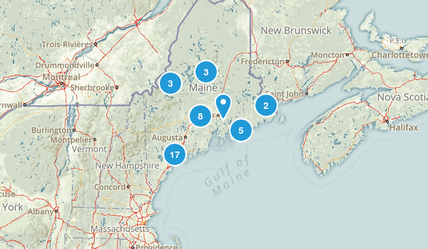 Maine Paddle Sports Map