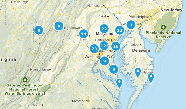Maryland Wildlife Map