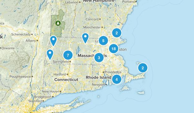 Massachusetts Wheelchair Friendly Map