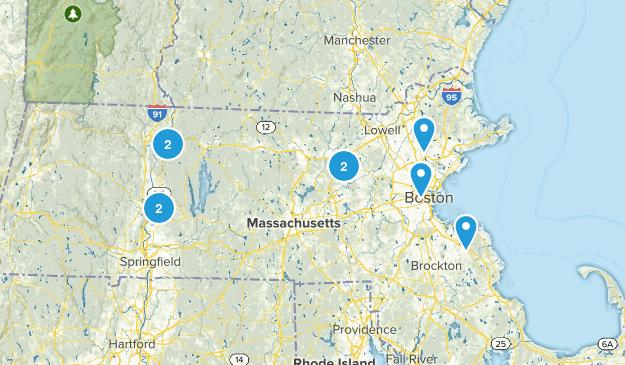 Massachusetts Cave Map