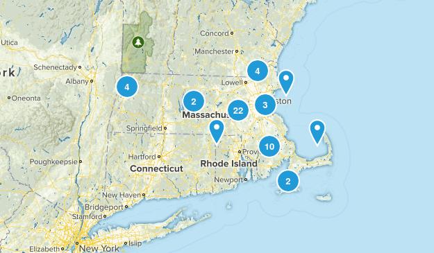 Massachusetts Historic Site Map