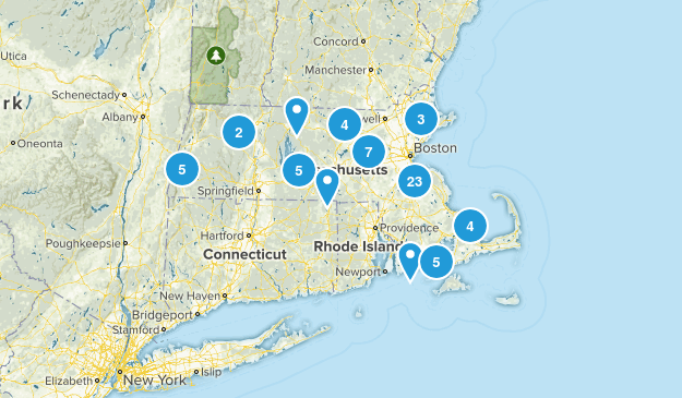 Massachusetts Paddle Sports Map