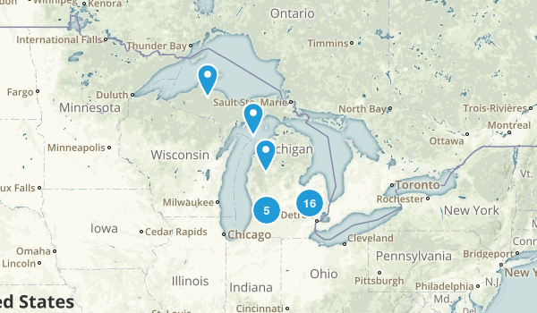 Michigan Wheelchair Friendly Map
