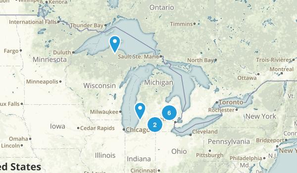 Michigan City Walk Map