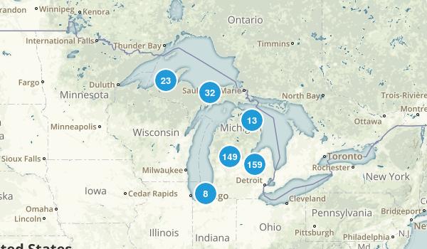 Michigan Kid Friendly Map