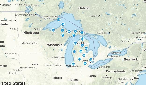 Michigan Nature Trips Map