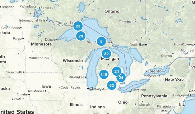 Michigan Wildlife Map
